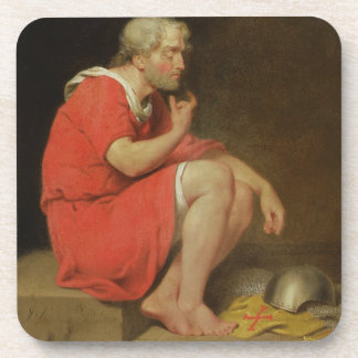 Robert (c.1054-1134) Duke of Normandy in Prison, 1 Drink Coaster