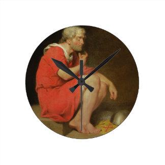 Robert (c.1054-1134) Duke of Normandy in Prison, 1 Round Clock
