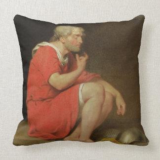 Robert (c.1054-1134) Duke of Normandy in Prison, 1 Throw Pillow