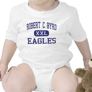 Robert C Byrd - Eagles - High - Clarksburg Rompers