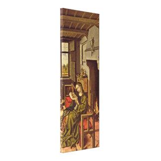 Robert Campin - St Barbara Gallery Wrap Canvas