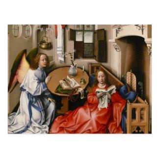 Robert Campin- The Mérode Altarpiece –Annunciation Postcard