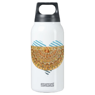 Robert Campin:Vestments of Order of Golden Fleece 10 Oz Insulated SIGG Thermos Water Bottle