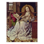 Robert Campin - Virgin and Child in an Interior Poster
