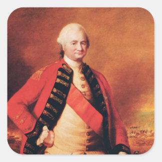 Robert Clive  1st Baron Clive, c.1773 Square Sticker
