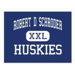 Robert D Schroder Huskies Middle Hollywood Postcard