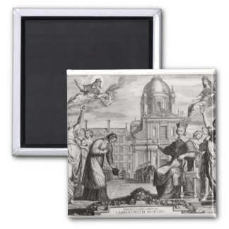 Robert de Sorbon  and Cardinal Richelieu Magnet
