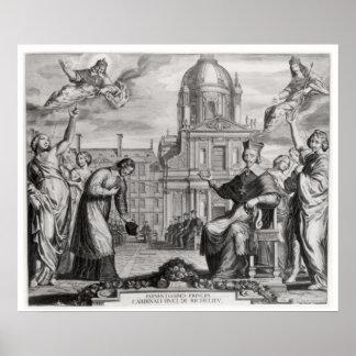Robert de Sorbon  and Cardinal Richelieu Posters