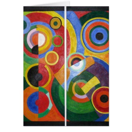 Robert Delaunay abstract art Card