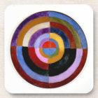 Robert Delaunay abstract art Coaster