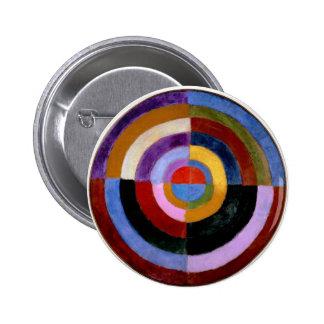 Robert Delaunay abstract art Pinback Button
