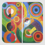 Robert Delaunay abstract art Square Sticker