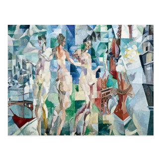 Robert Delaunay - City of Paris Postcard