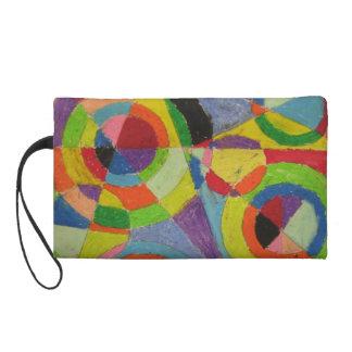 Robert Delaunay Color Explosion Wristlet
