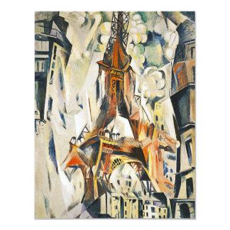 Robert Delaunay Eiffel Tower Invitations