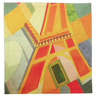 Robert Delaunay Eiffel Tower Napkins