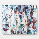 Robert Delaunay The City of Paris Mouse Pad