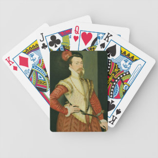 Robert Dudley (1532-88) 1st Earl of Leicester, c.1 Bicycle Playing Cards