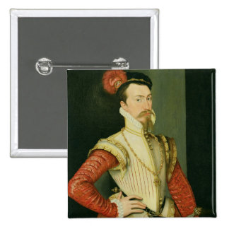 Robert Dudley (1532-88) 1st Earl of Leicester, c.1 Button