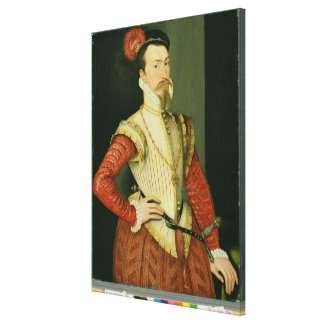 Robert Dudley (1532-88) 1st Earl of Leicester, c.1 Canvas Print