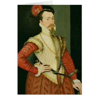 Robert Dudley (1532-88) 1st Earl of Leicester, c.1 Card