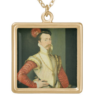 Robert Dudley (1532-88) 1st Earl of Leicester, c.1 Gold Plated Necklace