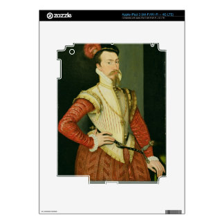 Robert Dudley (1532-88) 1st Earl of Leicester, c.1 iPad 3 Decal