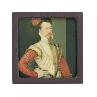 Robert Dudley (1532-88) 1st Earl of Leicester, c.1 Keepsake Box