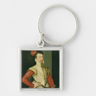 Robert Dudley (1532-88) 1st Earl of Leicester, c.1 Keychain