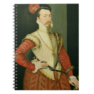 Robert Dudley (1532-88) 1st Earl of Leicester, c.1 Notebook