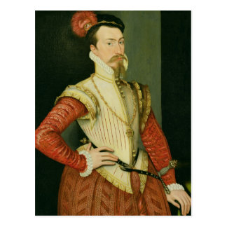 Robert Dudley (1532-88) 1st Earl of Leicester, c.1 Postcard