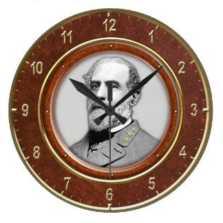 Robert E Lee10 75 Round Wallclock