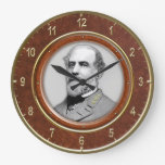 """Robert E. Lee10.75"""" Round Wallclock"""