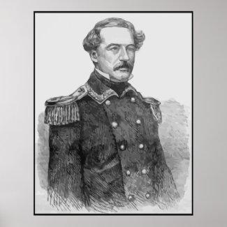 Robert E. Lee -- Black Border print
