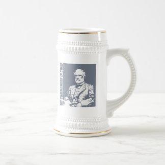 Robert E Lee (C en C) Jarra De Cerveza