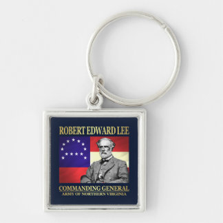Robert E Lee (Commanding General) Keychain