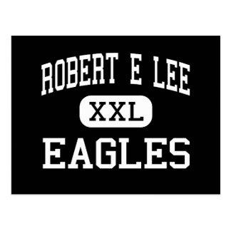 Robert E Lee - Eagles - Junior - Monroe Louisiana Postcard