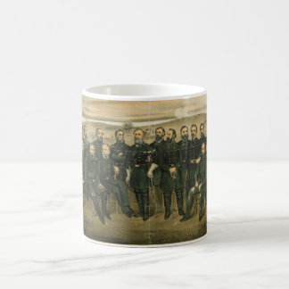 Robert E. Lee & his Civil War Confederate Generals Coffee Mug