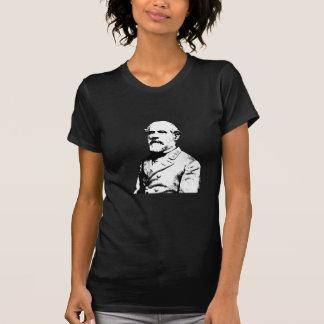 Robert E. Lee - Military Hero -- Black T Shirt