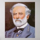Robert E. Lee Painting Print