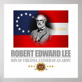Robert E Lee (patriota meridional) Póster