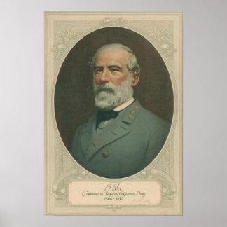 Robert E Lee Portrait Poster