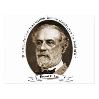 Robert E Lee Postcard