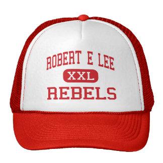 Robert E Lee - rebeldes - alto - Baton Rouge Gorra