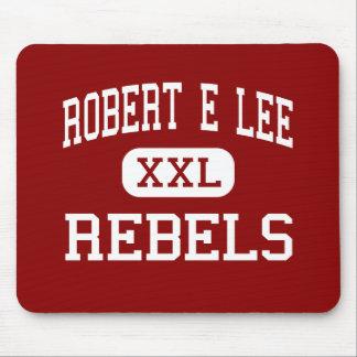 Robert E Lee - rebeldes - alto - Baton Rouge Alfombrilla De Ratón