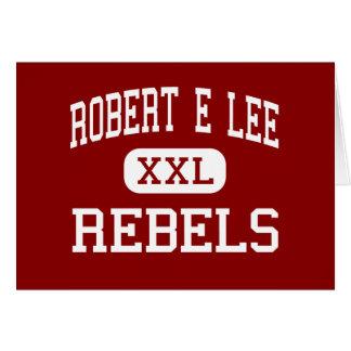 Robert E Lee - rebeldes - alto - Baton Rouge Tarjeta