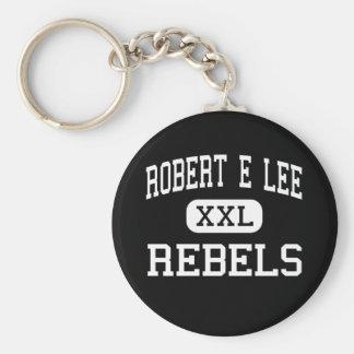Robert E Lee - rebeldes - alto - Midland Tejas Llaveros Personalizados