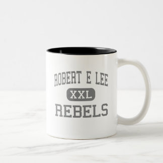 Robert E Lee - rebeldes - alto - Midland Tejas Taza De Café