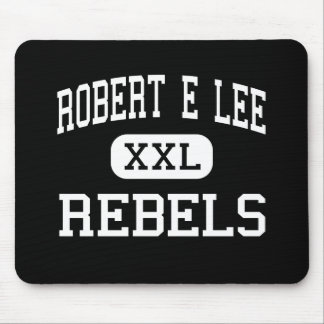 Robert E Lee - Rebels - High - Midland Texas Mouse Pad