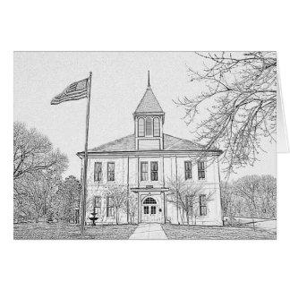 Robert E Lee School, Paris, TN Stationery Note Card